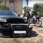 BMW R1200GS vs. Audi A6: 3-0 7