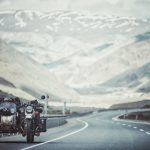 Photographer, riding to Mongolia with his wife and kid 3