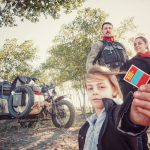 Photographer, riding to Mongolia with his wife and kid 2