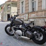2017 Triumph Bonneville Bobber Test Ride 15