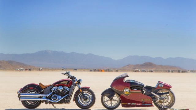 Indian Motorcycles - 50 years from the land speed record 1