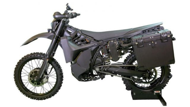 SilentHawk - Special Forces get deadly silent motorcycle 1