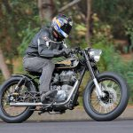 Mid Life Cycles Royal Enfield RE350 Brass Rajah Test: Indian bobber 14