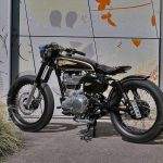 Mid Life Cycles Royal Enfield RE350 Brass Rajah Test: Indian bobber 19