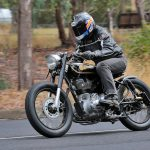 Mid Life Cycles Royal Enfield RE350 Brass Rajah Test: Indian bobber 16