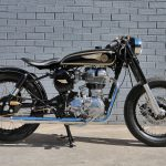 Mid Life Cycles Royal Enfield RE350 Brass Rajah Test: Indian bobber 8