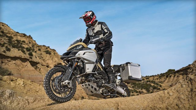 New Ducati Multistrada Enduro Pro. The GS Rallye challenger 1