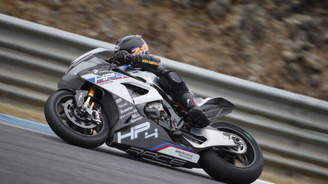 BMW HP4 Race Test: Black Magic Beemer 1