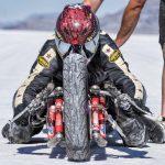 Building a record-breaking double Ducati for Bonneville 2