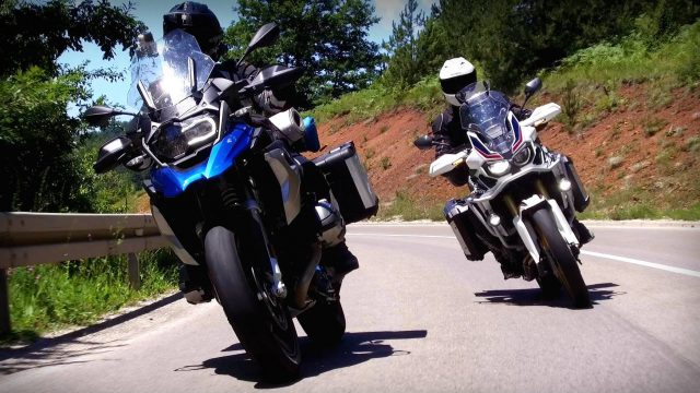 BMW R1200GS vs Honda CRF1000L Africa Twin: in-depth review 1