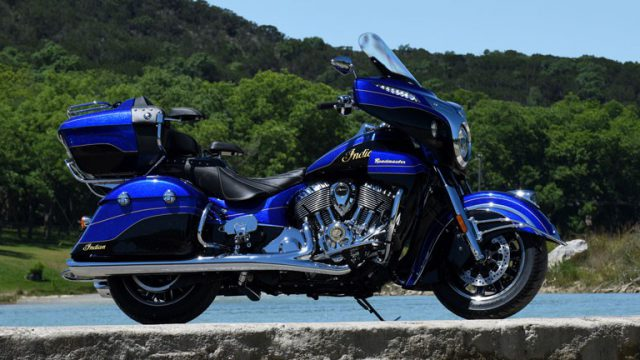 Deluxe tourer from Indian - the Roadmaster Elite 1