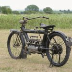 """1910 PIERCE FOUR road test: """"The Vibrationless Motorcycle"""" 13"""