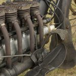 """1910 PIERCE FOUR road test: """"The Vibrationless Motorcycle"""" 21"""