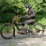"""1910 PIERCE FOUR road test: """"The Vibrationless Motorcycle"""" 12"""