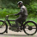 """1910 PIERCE FOUR road test: """"The Vibrationless Motorcycle"""" 14"""