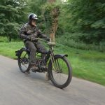 """1910 PIERCE FOUR road test: """"The Vibrationless Motorcycle"""" 18"""