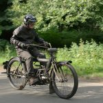 """1910 PIERCE FOUR road test: """"The Vibrationless Motorcycle"""" 20"""