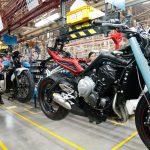 Triumph motorcycles Thailand factory visit 4