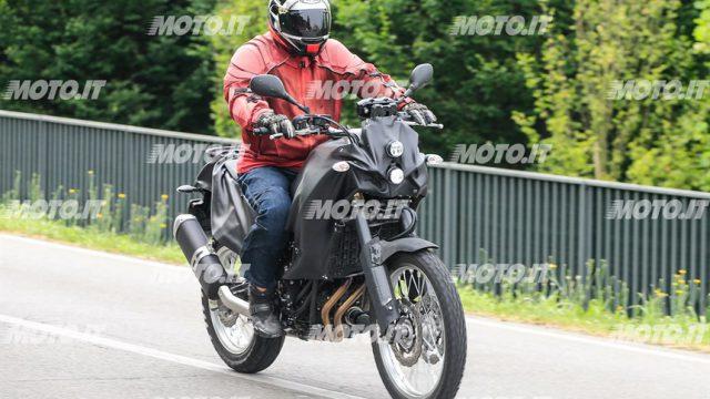 2017 Yamaha Tenere 700 Spy Shots 1