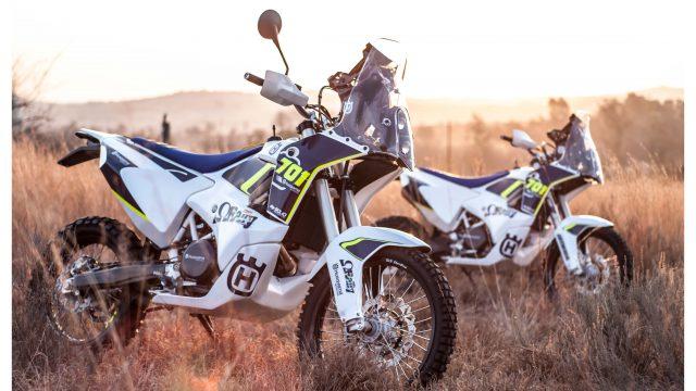 This Husqvarna 701 Rally Kit Rocks 1