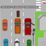 Riding Essentials - Traffic dangers infographic 2