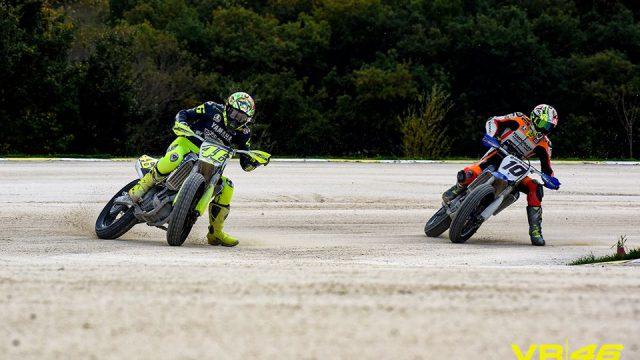 Rossi breaks leg during training 1