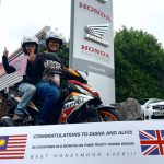 Malaysian couple complete epic honeymoon journey on a 15hp scooter. Inspiring photos 2