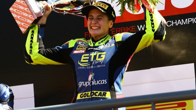 Ana Carrasco - The first woman to win a World Championship Race 1