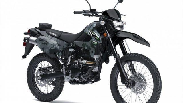 2018 Kawasaki KLX250 Camo2