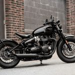 Triumph Bobber's evil twin. Meet the black edition 2