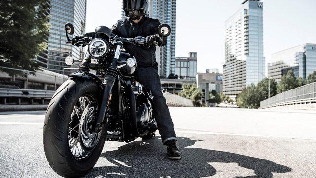 Triumph Bobber's evil twin. Meet the black edition 1