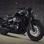 Triumph Bobber's evil twin. Meet the black edition 4