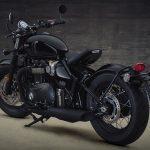 Triumph Bobber's evil twin. Meet the black edition 6