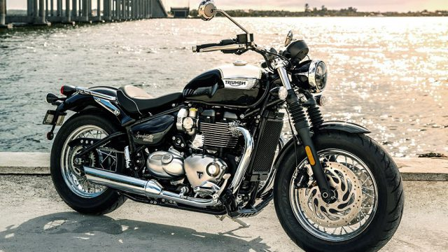 New Bonneville Speedmaster. Triumph strikes again 4