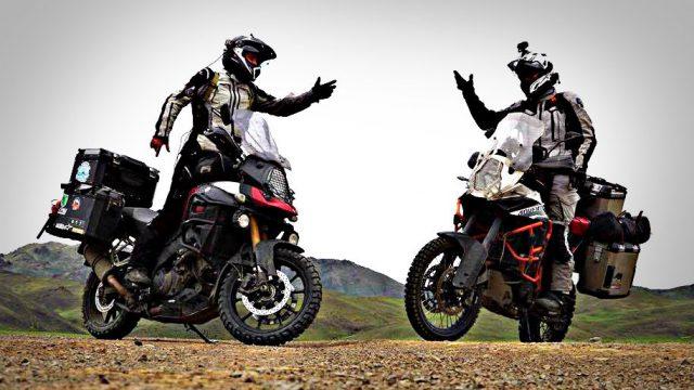 Suzuki V-Strom 1000 vs. KTM 1190 Adventure R in Mongolia. Testimonial 1