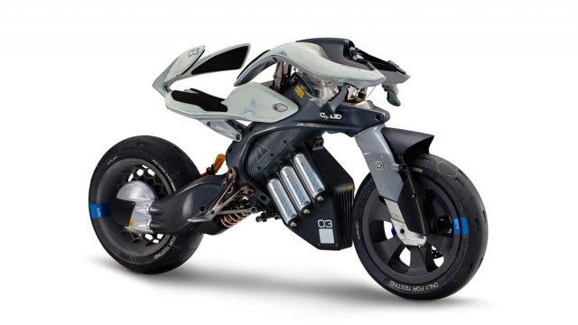 Meet the bike of the future - Yamaha MOTOROiD 1