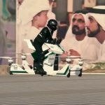 Flying motorcycle for Dubai Police force 2