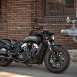 INDIAN SCOUT BOBBER Launch test: Boy Scout 3