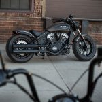 INDIAN SCOUT BOBBER Launch test: Boy Scout 9