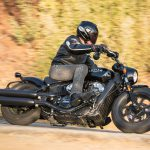 INDIAN SCOUT BOBBER Launch test: Boy Scout 17