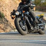 INDIAN SCOUT BOBBER Launch test: Boy Scout 15