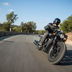 INDIAN SCOUT BOBBER Launch test: Boy Scout 2