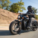 INDIAN SCOUT BOBBER Launch test: Boy Scout 11