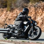 INDIAN SCOUT BOBBER Launch test: Boy Scout 12