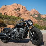 INDIAN SCOUT BOBBER Launch test: Boy Scout 16
