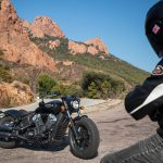 INDIAN SCOUT BOBBER Launch test: Boy Scout 20