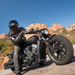 INDIAN SCOUT BOBBER Launch test: Boy Scout 18