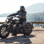 INDIAN SCOUT BOBBER Launch test: Boy Scout 22