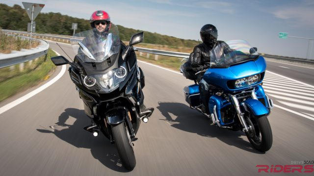 BMW K1600B vs. Road Glide Ultra. Better than a Harley-Davidson? 1