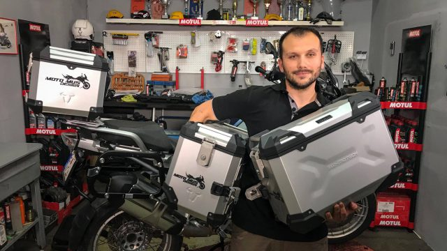 SW Motech Panniers for R1200GS. Better than the originals? VIDEO 4